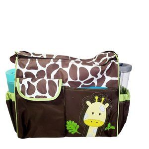 Baby Diaper double zipper Duffle Bag
